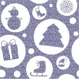 Het patroon van Kerstmis vector illustratie