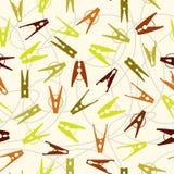 Het patroon van klemmen vector illustratie