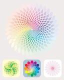 Het Patroon van kleuren Stock Afbeeldingen