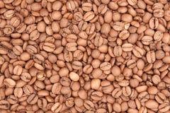 Het patroon van koffiebonen Royalty-vrije Stock Afbeeldingen
