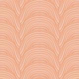 Het patroon van krabbelgolven. Vectorachtergrond. stock illustratie