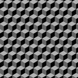 Het patroon van kubussen (vector) royalty-vrije illustratie