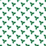 Het patroon van maretakkerstmis Stock Fotografie