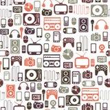 Het patroon van media Stock Afbeelding