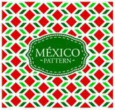 Het patroon van Mexico stock illustratie
