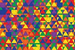 Het Patroon van mozaïekdriehoeken stock illustratie