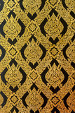 Het patroon van muurschilderingenthailand Stock Afbeelding