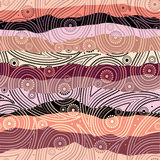 Het patroon van Paisley stock illustratie