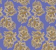 Het patroon van Paisley Stock Foto