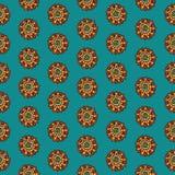 Het patroon van Paisley royalty-vrije illustratie