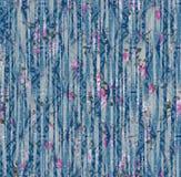 Het patroon van Paisley etnisch naadloos het schilderen digitaal waterverf bloemenpatroon stock fotografie