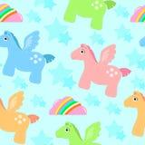 Het patroon van Pegasus Stock Foto