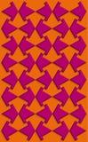 Het patroon van pijlen Royalty-vrije Stock Foto
