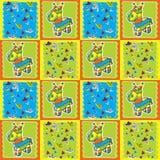 Het Patroon van Pinata Royalty-vrije Stock Foto