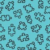 Het patroon van raadsel 01 Stock Foto's