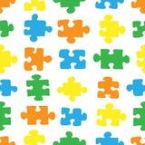Het patroon van raadsel 03 Stock Fotografie