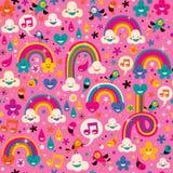 Het patroon van regenbogen Royalty-vrije Stock Afbeelding