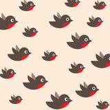 Het patroon van Robin vector illustratie