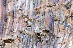 Het patroon van rotslagen Stock Fotografie