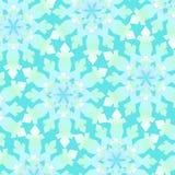 Het Patroon van sneeuwvlokken Stock Fotografie