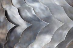 Het patroon van staalsquama Stock Fotografie