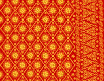 Het patroon van Sumatera Royalty-vrije Stock Fotografie
