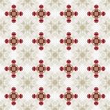 Het Patroon van vakantieglitzy Champagne Red Ribbon Seamless Background Royalty-vrije Stock Foto's