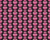 Het patroon van valentijnskaarten Royalty-vrije Stock Foto's