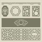 Het patroon van vensters Royalty-vrije Stock Fotografie