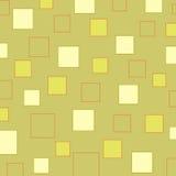 Het patroon van vierkanten Stock Fotografie