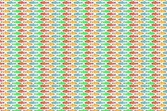 Het patroon van vissen Stock Foto's