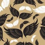 Het patroon van vleugels Royalty-vrije Stock Fotografie