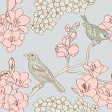 Het patroon van vogels Royalty-vrije Stock Foto's