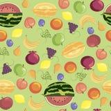 Het patroon van vruchten Royalty-vrije Stock Fotografie