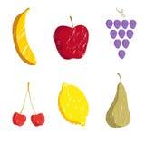 Het patroon van vruchten Royalty-vrije Stock Foto