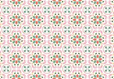 Het patroon van Wallpaer Royalty-vrije Stock Afbeeldingen