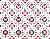 Het patroon van Wallpaer royalty-vrije illustratie