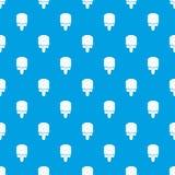 Het patroon vector naadloos blauw van het glansroomijs Royalty-vrije Stock Afbeeldingen