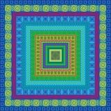 Het patroon vectorbehang van de streep Royalty-vrije Stock Afbeeldingen