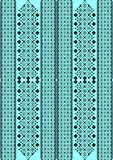 Het patroon voor borduurwerk Stock Fotografie
