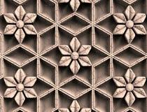 Het patroon voor de verwoording, embleem, embleem, zaken, amulet, voorspelling, toekomst, ornament, houten zwarte, houten, bruin  royalty-vrije stock afbeeldingen