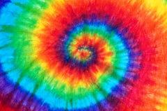 het patroonachtergrond van de bandkleurstof Royalty-vrije Stock Afbeelding