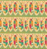 Het patroonachtergrond van de Ethnoveer Royalty-vrije Stock Foto