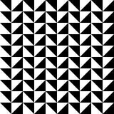 Het patroonachtergrond van de pretdriehoek met witte en zwarte driehoek stock illustratie