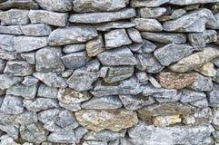 Het patroonachtergrond van de steenomheining Stock Foto