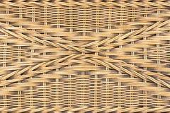 Het patroonachtergrond van de weefselrotan stock afbeelding
