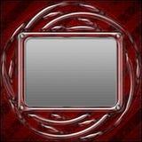 Het patroonachtergrond van het metaal Royalty-vrije Stock Fotografie