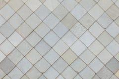 Het patroonachtergrond van het steendak royalty-vrije stock afbeelding