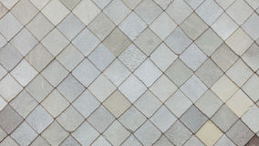 Het patroonachtergrond van het steendak royalty-vrije stock foto