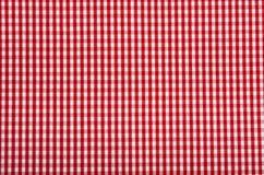 Het patroonachtergrond van het tafelkleed Stock Afbeeldingen